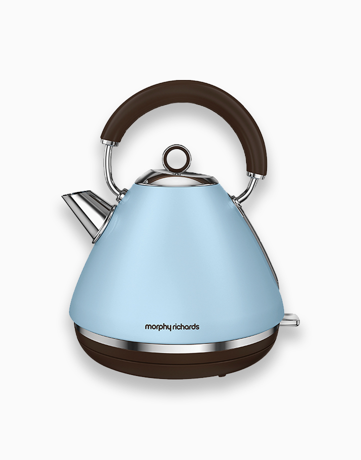 Morphy Richards Accents Traditional Kettle 1.5L by Morphy Richards   Azure
