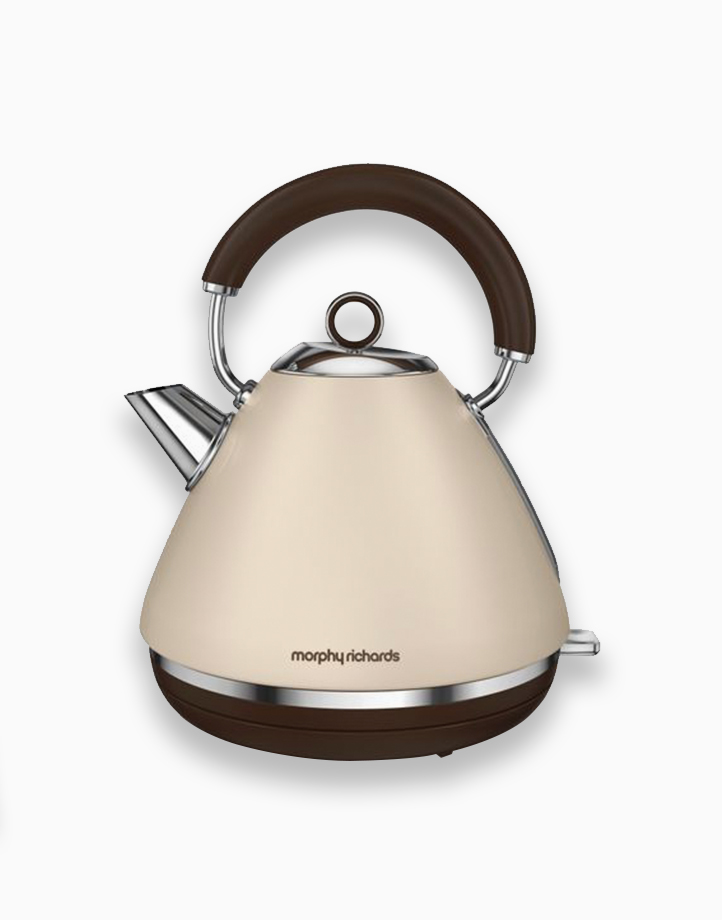 Morphy Richards Accents Traditional Kettle 1.5L by Morphy Richards   Sand