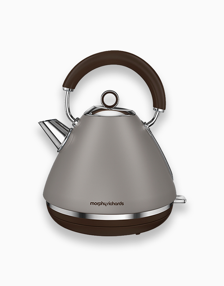 Morphy Richards Accents Traditional Kettle 1.5L by Morphy Richards   Pebble