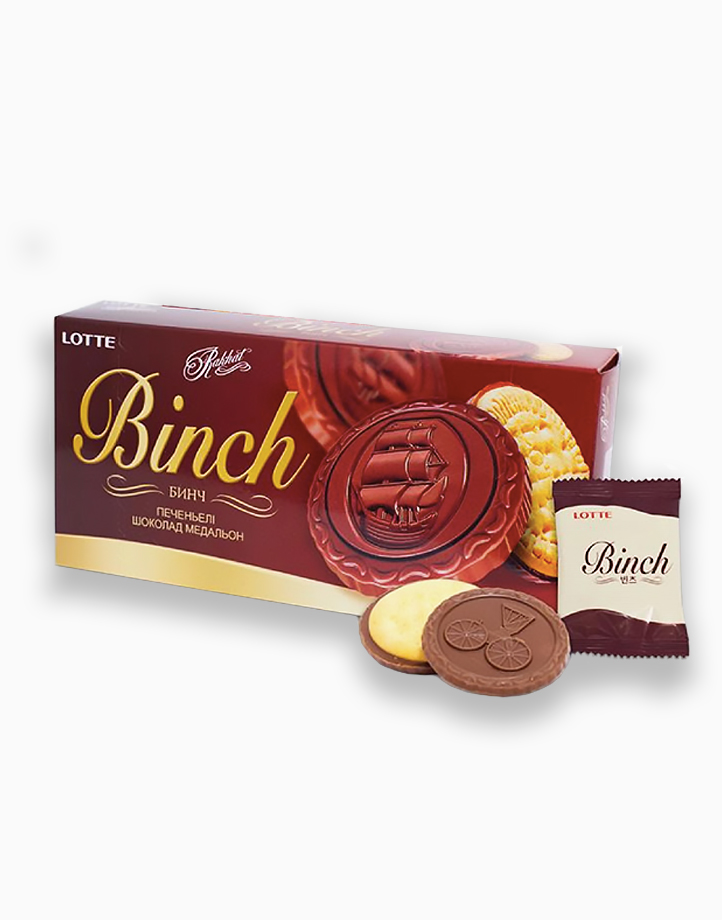 Binch Chocolate Biscuit (105g) by Lotte