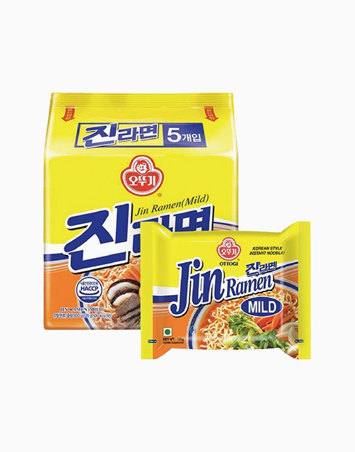 Jin Ramen Mild (Pack of 5) by Ottogi