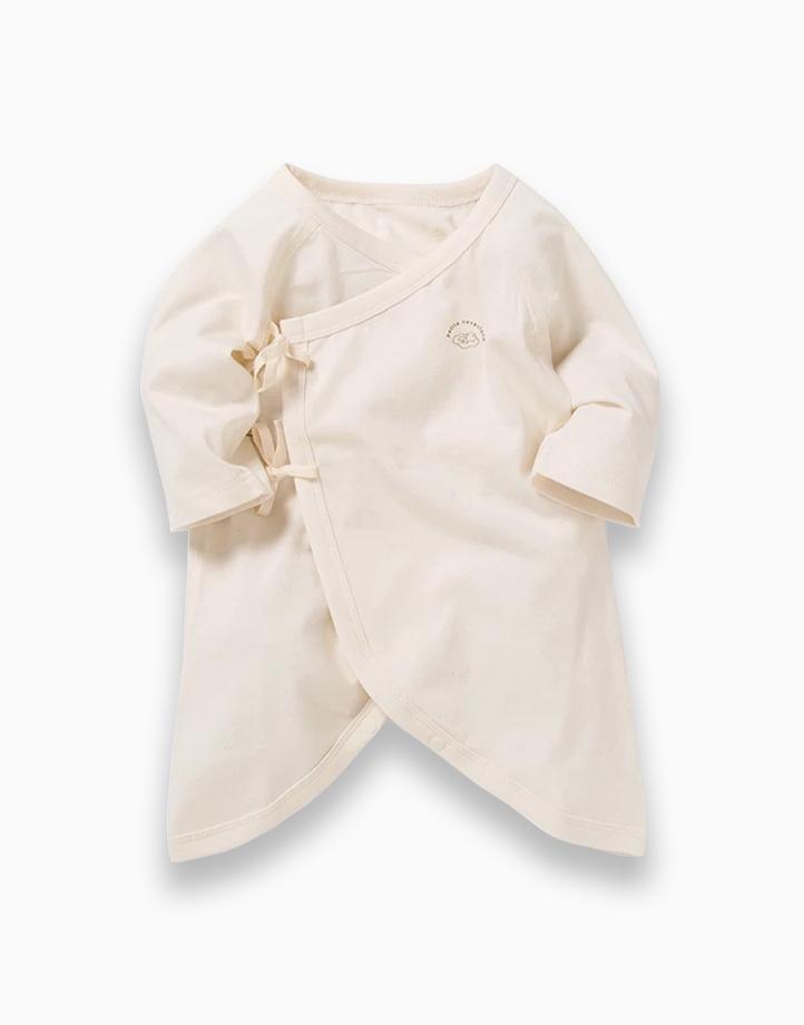 Kimono Tie Sides by Kat & Co.   Ivory