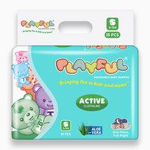 Playful active clothlike small 15s