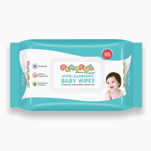 Playful hypo allergenic baby wipes 55s