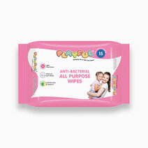Playful anti bacterial all purpose wipes 15s