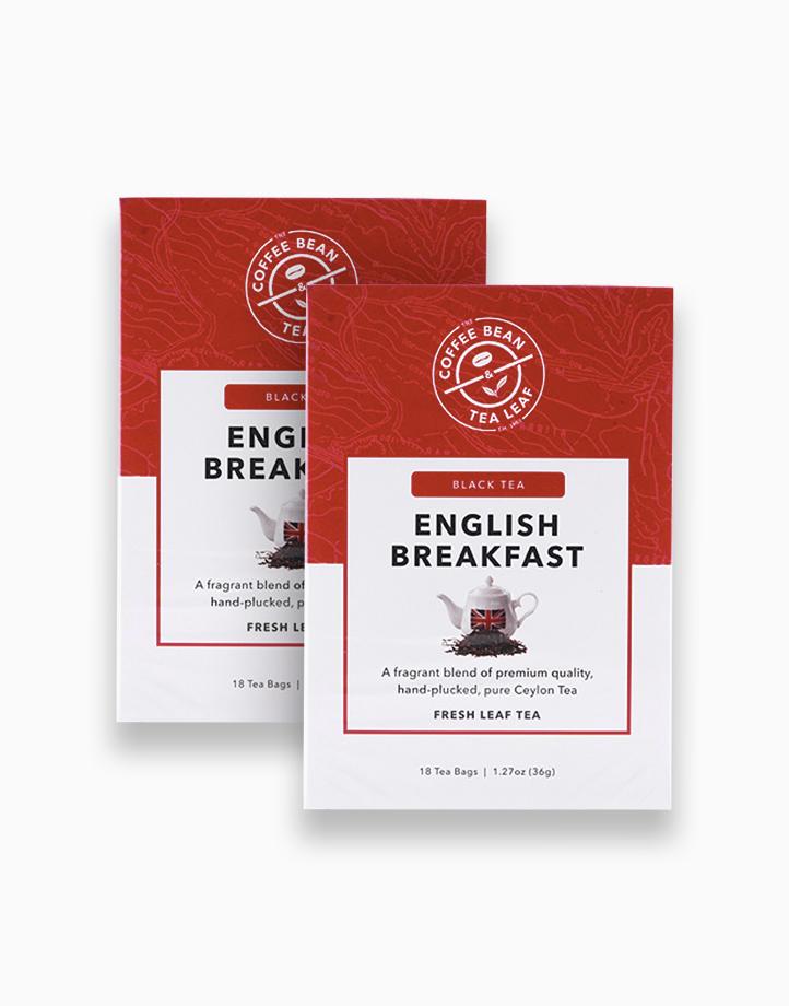 The Coffee Bean & Tea Leaf¨ Fresh Leaf Tea English Breakfast 23g (2 boxes) by The Coffee Bean & Tea Leaf