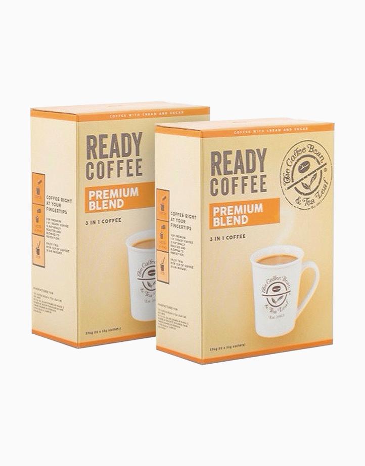 The Coffee Bean & Tea Leaf¨ Ready Coffee Premium Blend 23g (2 boxes) by The Coffee Bean and Tea Leaf