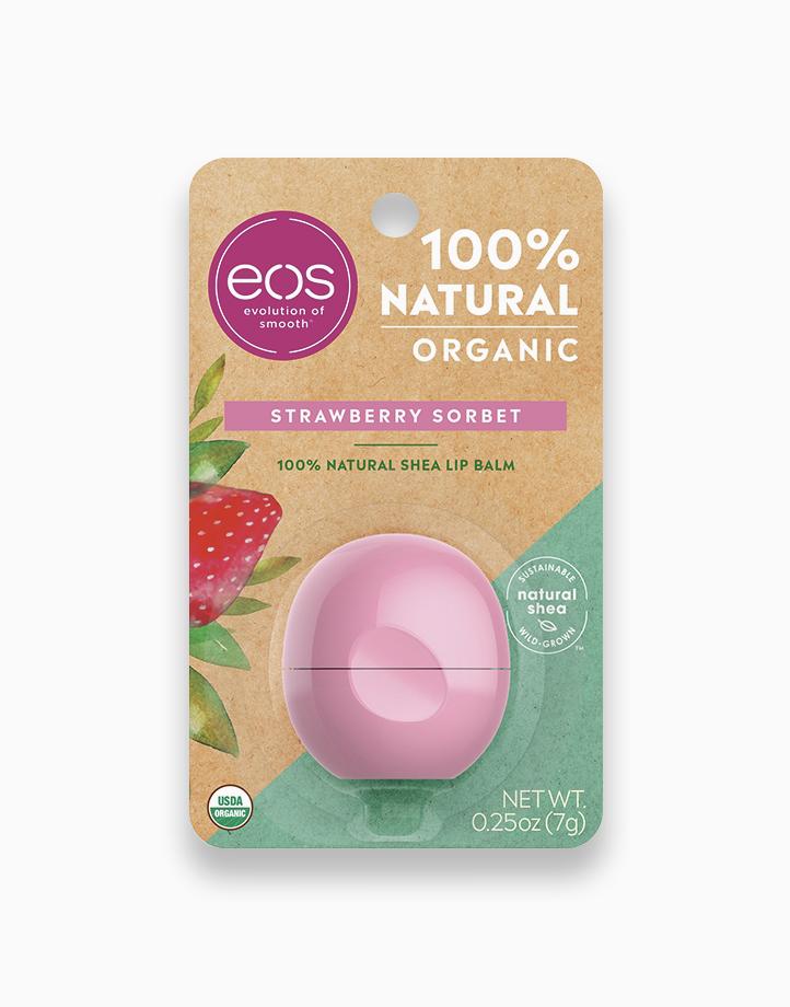 Strawberry Sorbet Lip Balm by EOS