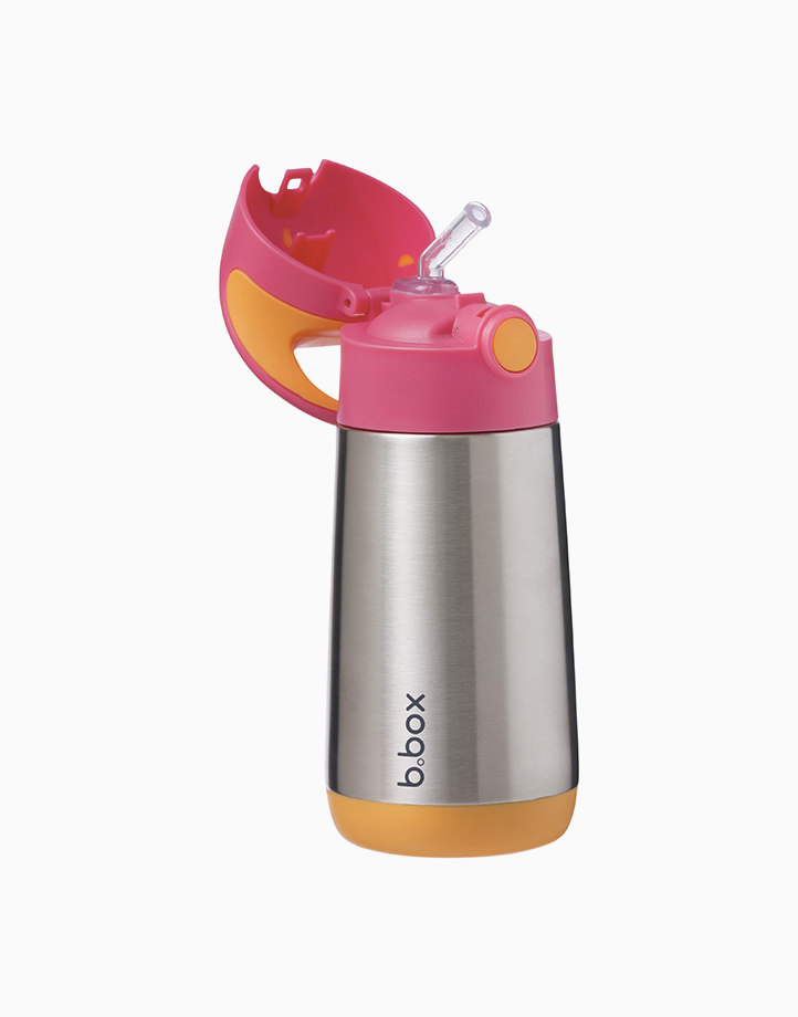 Insulated Drink Bottle (12oz) by b.box   Strawberry Shake