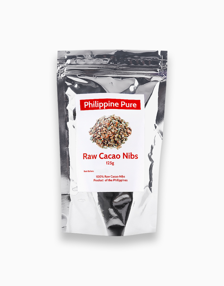 Raw Cacao Nibs (125g) by Philippine Pure