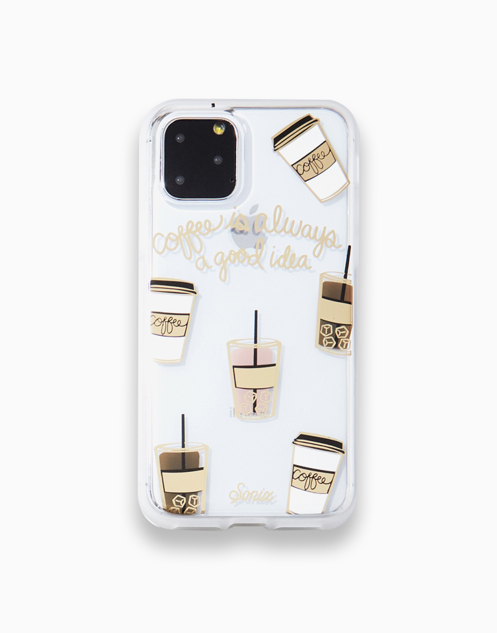 Clear Coat Case for iPhone 11 by SONIX   Coffee