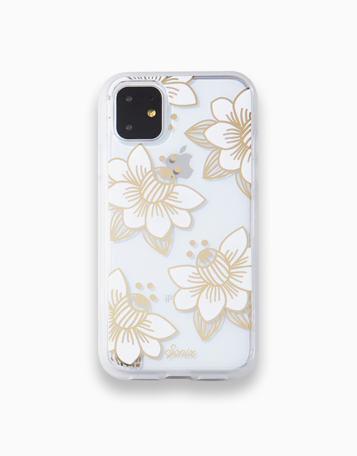 Clear Coat Case for iPhone 11 by SONIX   Dessert Lily