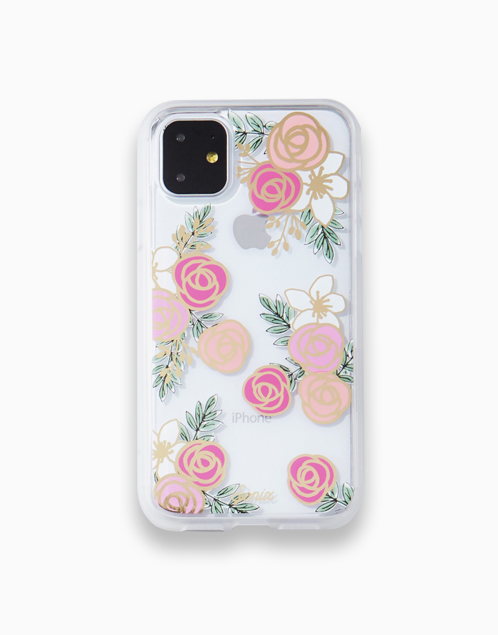 Clear Coat Case for iPhone 11 by SONIX   Gatsby Rose