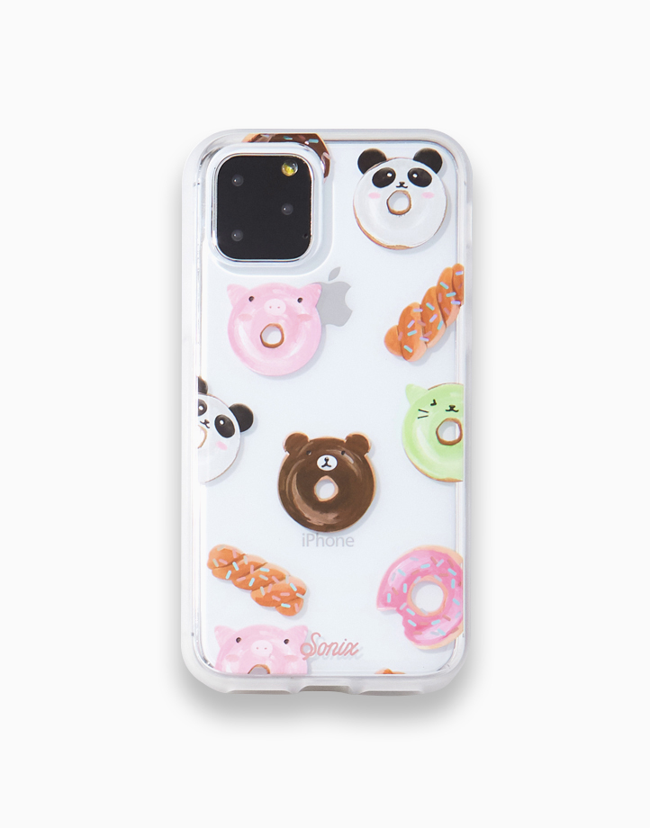 Clear Coat Case for iPhone 11 Pro Max by SONIX   Kawaii Donuts