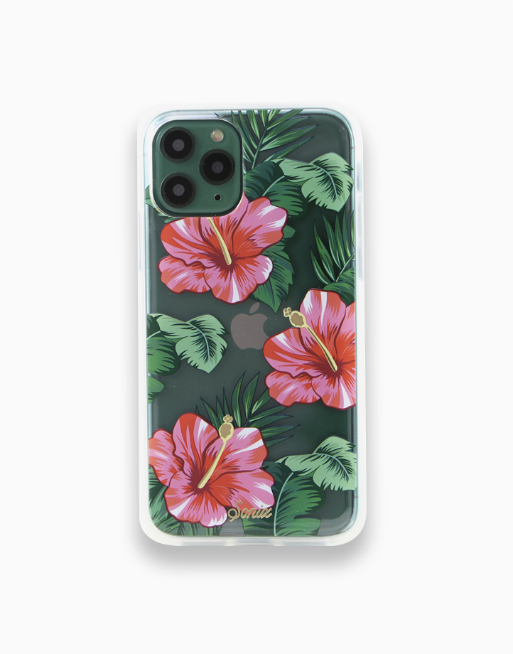 Clear Coat Case for iPhone 11 Pro Max by SONIX   Tropical Garden