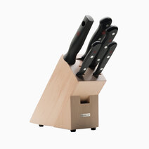Wusthof gourmet knife block with 5 pieces knives set