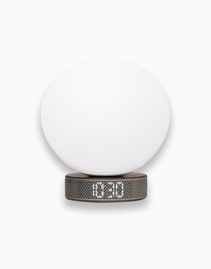 Miami Sunrise - Sunlight Simulator Alarm Clock by Lexon | Dark Wood