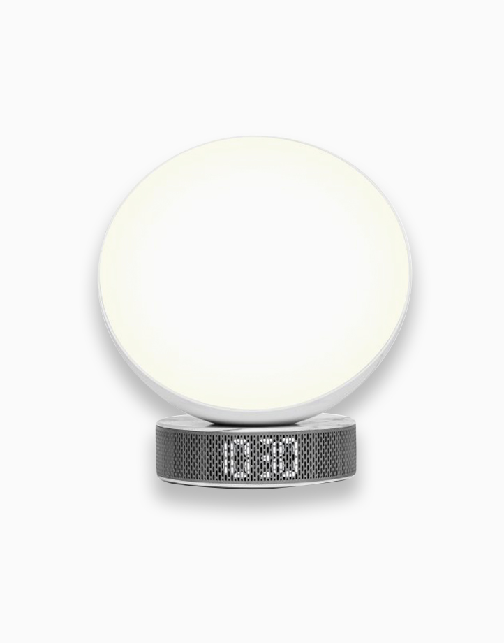 Miami Sunrise - Sunlight Simulator Alarm Clock by Lexon | White Marble