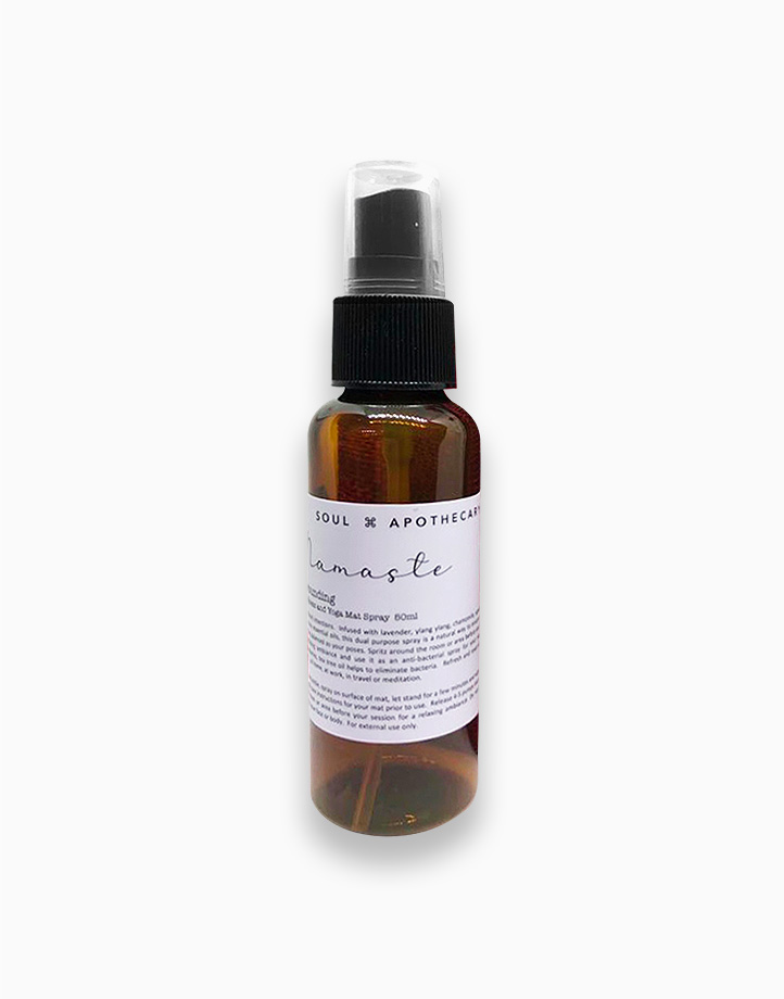Wellness Spray in Maroon Gift Pouch by Soul Apothecary | Namaste - Grounding