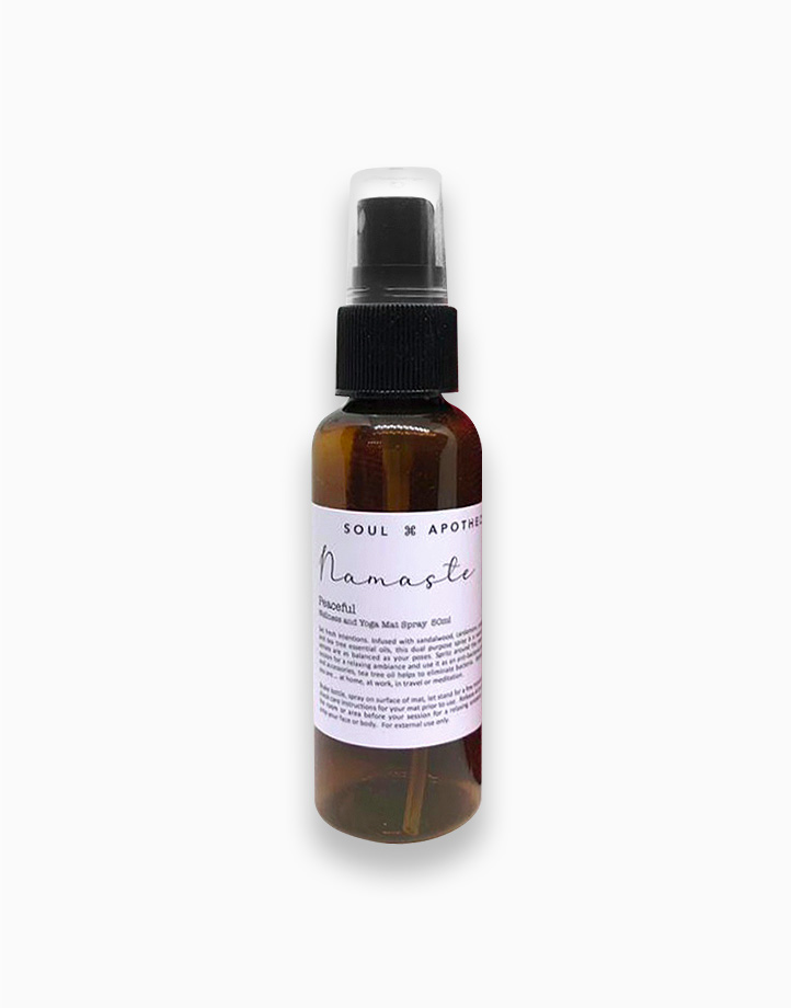 Wellness Spray in Maroon Gift Pouch by Soul Apothecary | Namaste - Peaceful