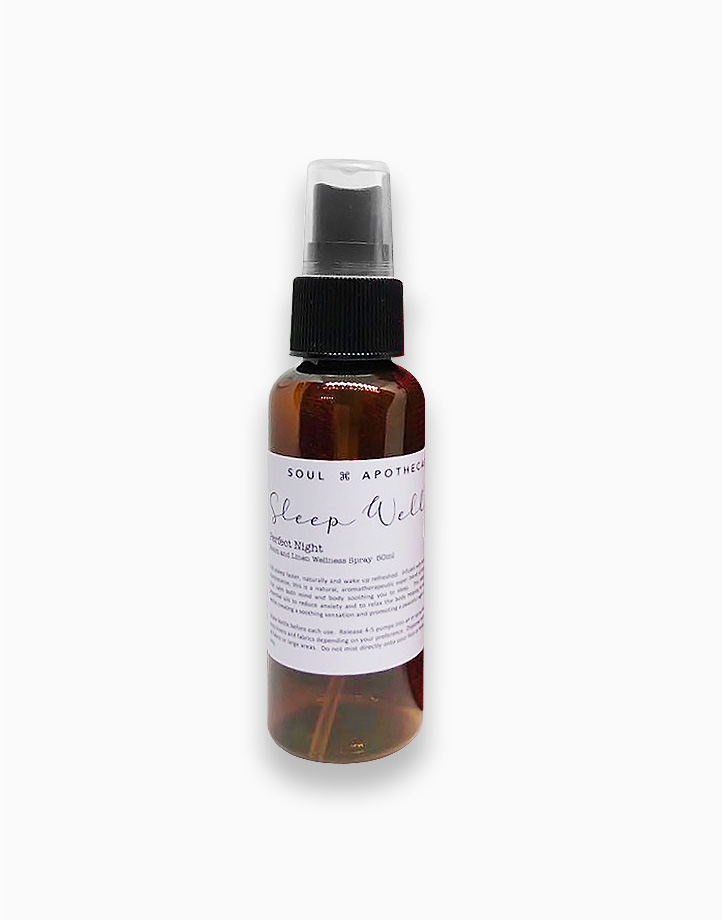 Wellness Spray in Maroon Gift Pouch by Soul Apothecary | Sleep Well - Perfect Night