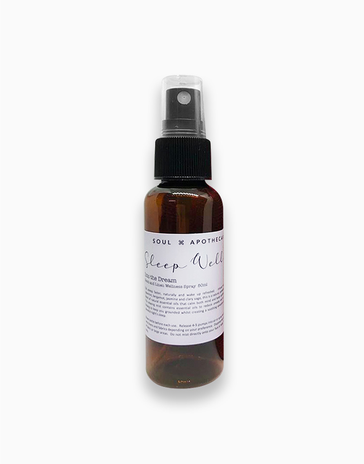 Wellness Spray in Gray Gift Pouch by Soul Apothecary | Sleep Well - Into the Dream