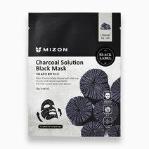 Re mizon charcoal solution black mask 25g