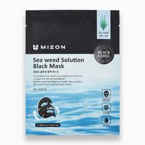 Re mizon seaweed solution black mask 25g