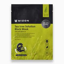 Re mizon tea tree solution black mask 25g