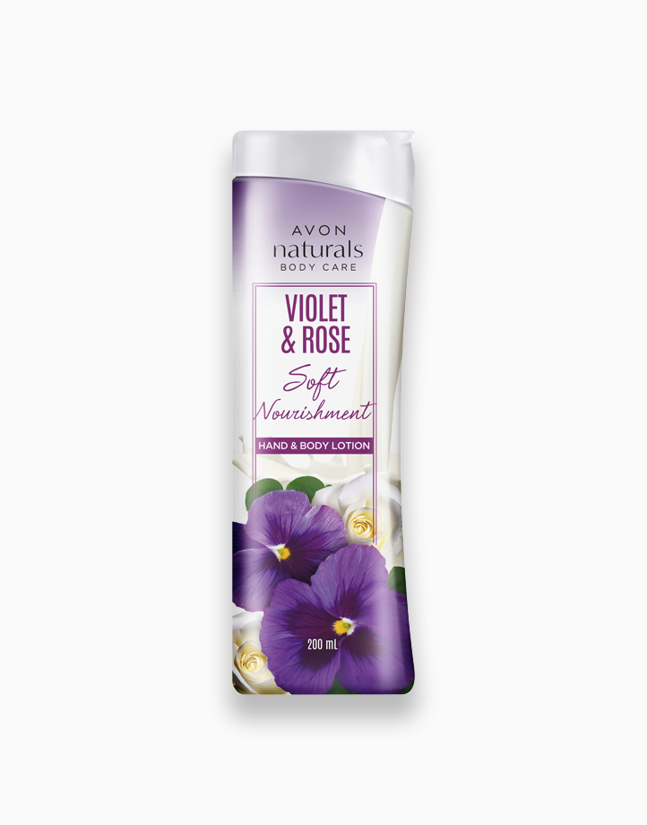 Naturals Violet and Rose Hand and Body Lotion (200ml) by Avon