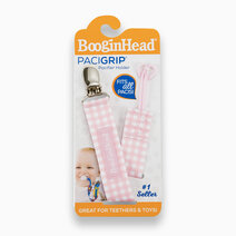 Re pacigrip   pink gingham universal pacifier clip 3
