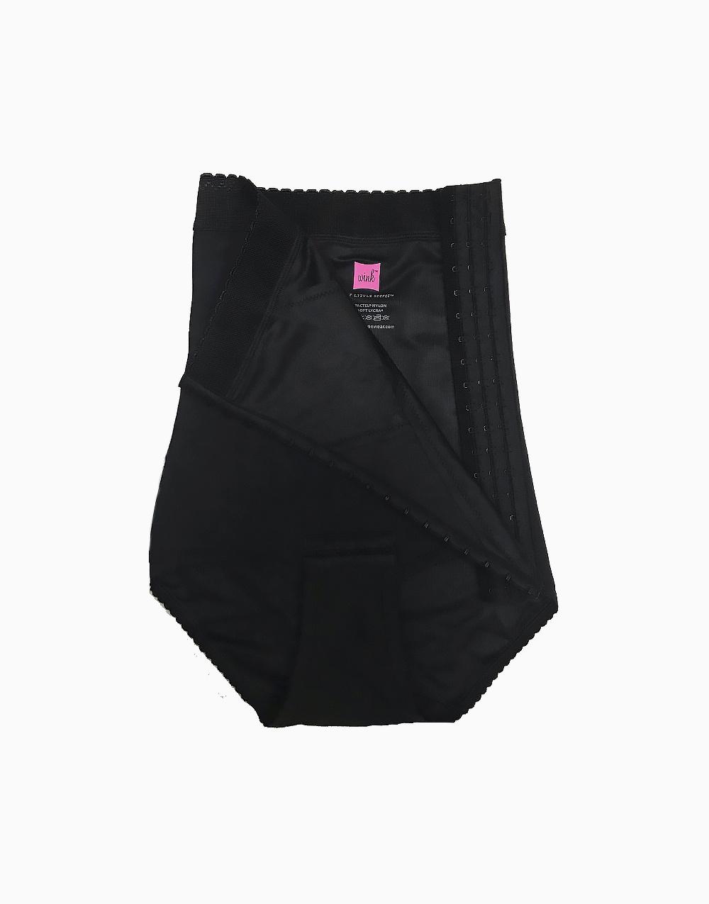 Postpartum Ultra Bikini in Black by Wink Shapewear | LARGE