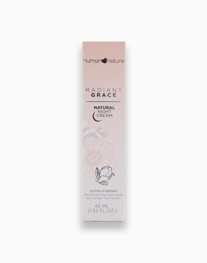 Radiant Grace Night Cream - New & Improved Formula (45ml) by Human Nature