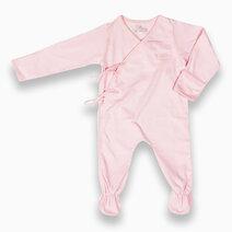 St. patrick sleepsuit %28powder pink%29