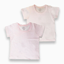 St. patrick t shirt %28powder pink   pink stripes%29