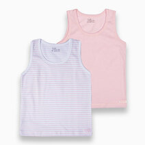 St. patrick singlet %28powder pink   pink stripes%29