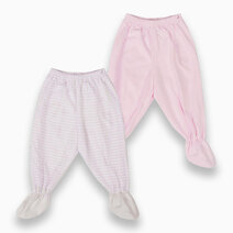 St. patrick footie pajamas %28powder pink   pink stripes%29