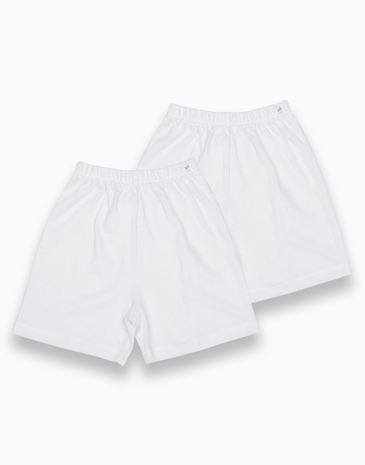 Shorts (Pure White) by St. Patrick Baby | 24M