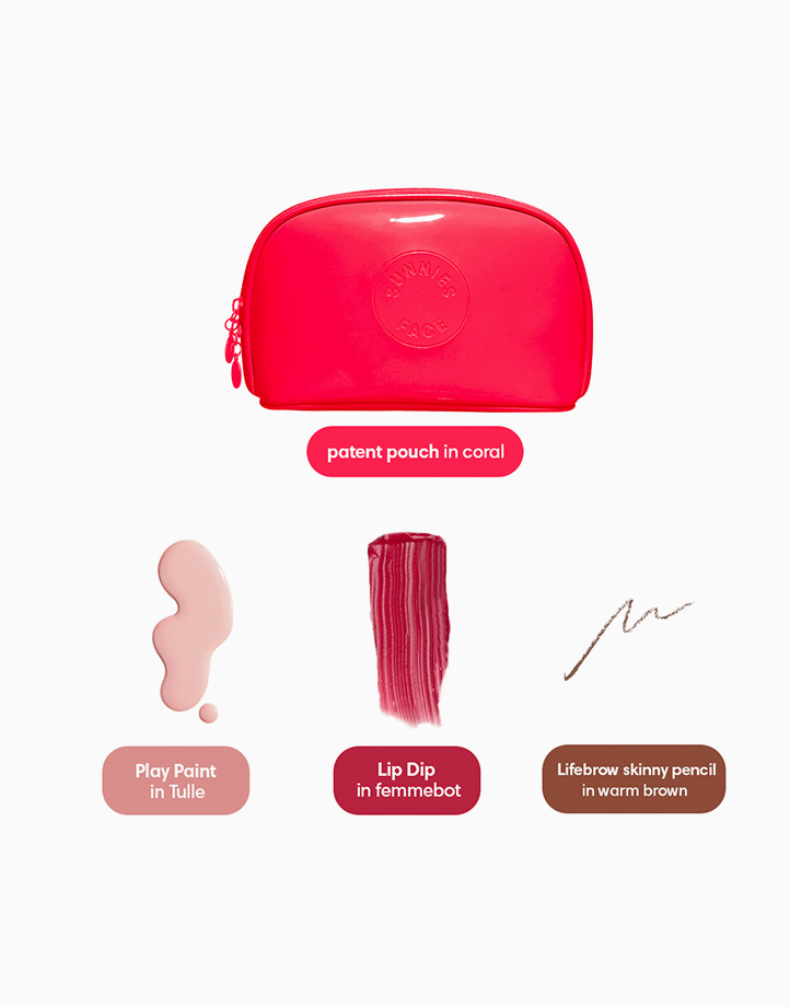 Sunnies Face Your Go-to Thing [Lipstick, Eyebrows, and Nail Polish Set] by Sunnies Face