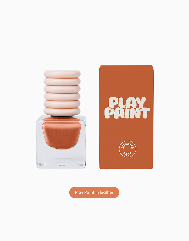 Sunnies Face Lips and Tips [Lipstick, Nail Polish, and Makeup Kit Set] (Deep Peaches) by Sunnies Face