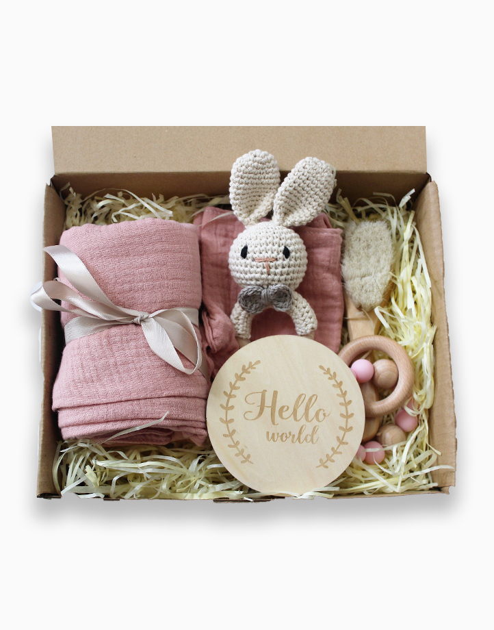 Hello, World! Gift Bundle in Pink by Love, Leon