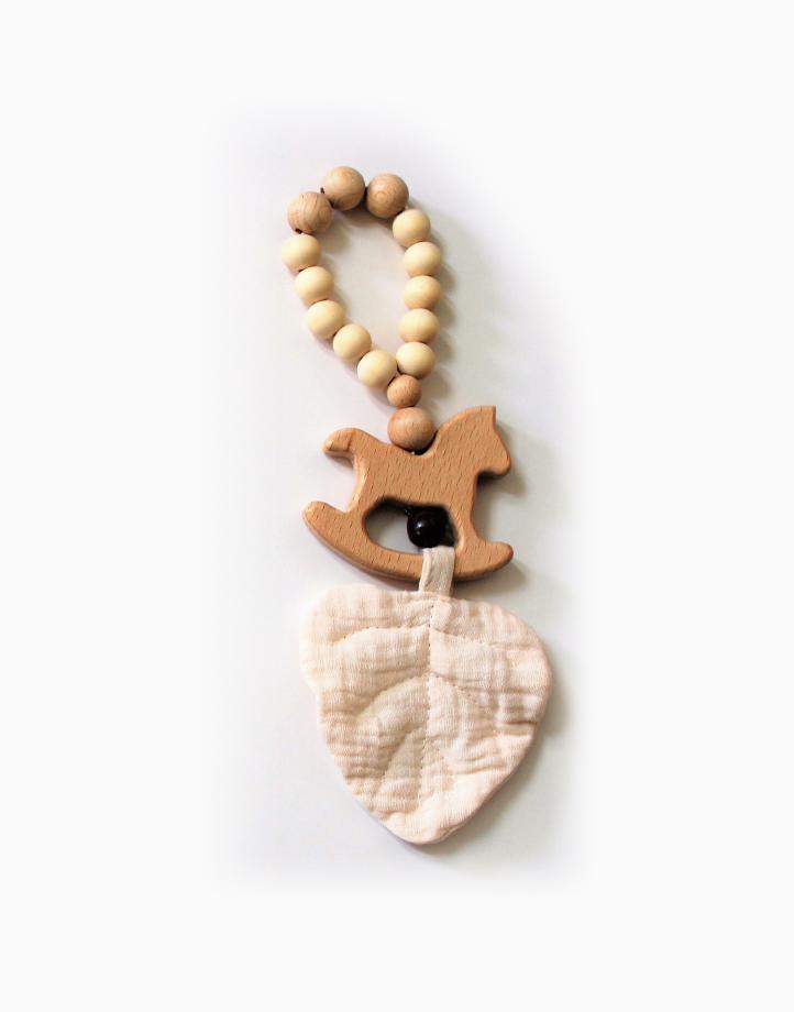 Leaf Sensory Toy by Love, Leon | White