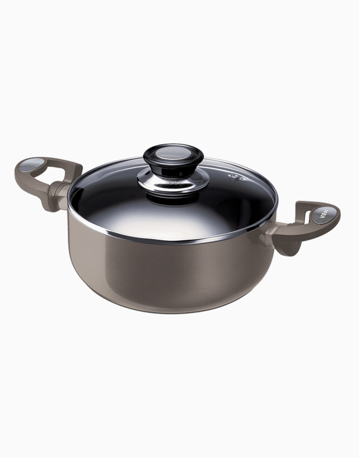 Pro-Induction Pearl Casserole with Lid (24cm) by Beka