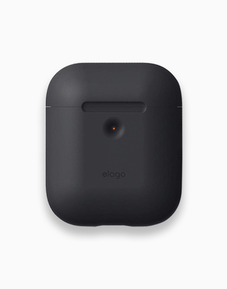 Silicone Case for Airpods 2 by Elago | Black