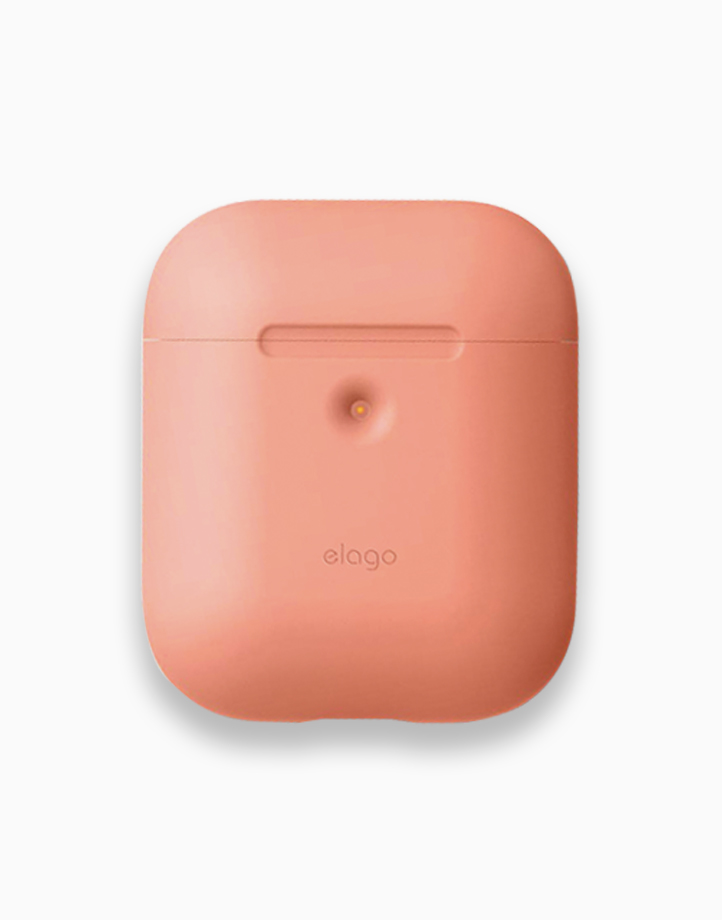 Silicone Case for Airpods 2 by Elago | Peach