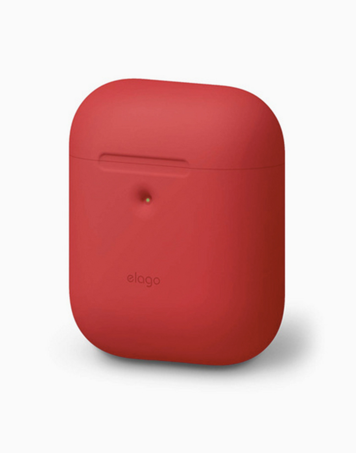 Silicone Case for Airpods 2 by Elago | Red