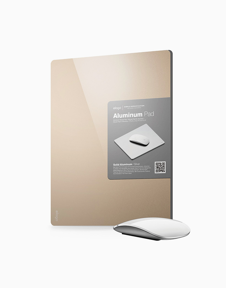 Aluminum Mouse Pad by Elago | Champagne Gold
