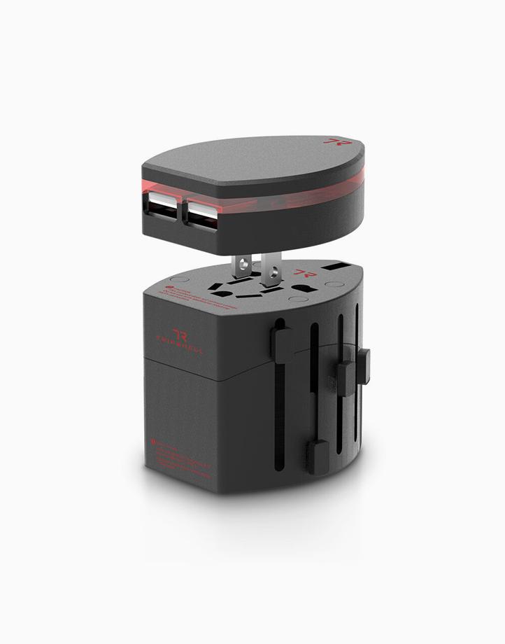 TripShell World Travel Adapter & Dual USB Adapter II by Elago