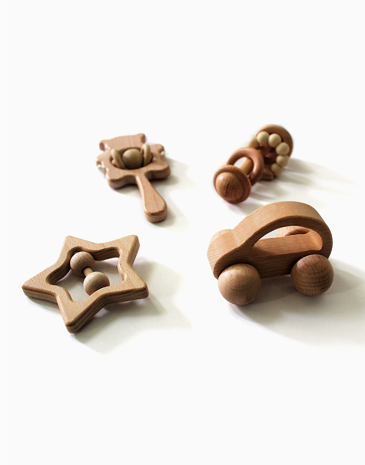 Wooden Toy Set by Love, Leon