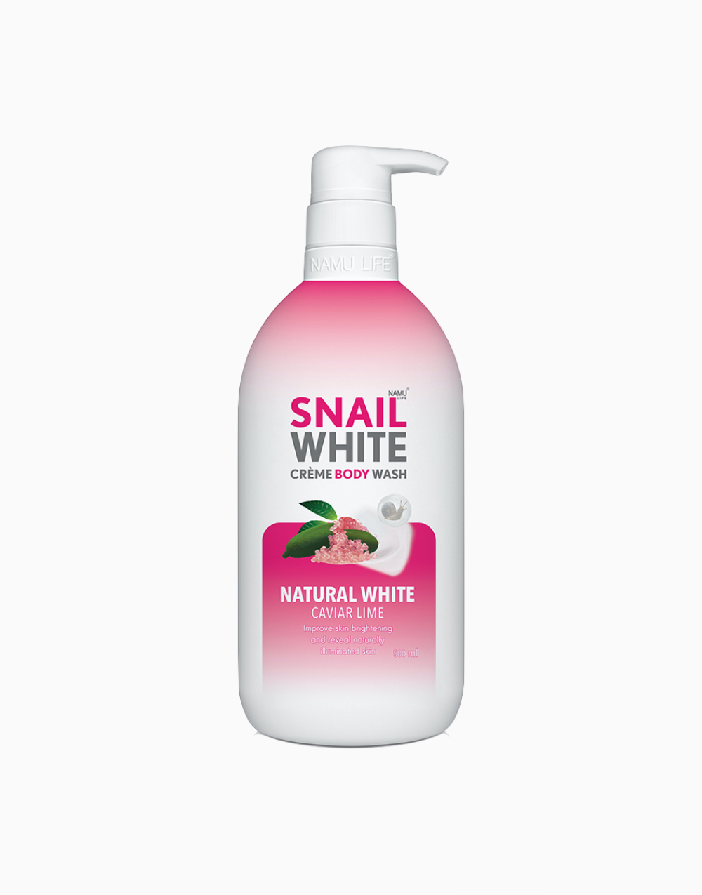 Natural White Body Wash (500ml) by SNAILWHITE